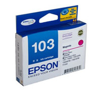 Epson 103N Magenta Ink Cartridge - High Yield