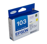 Epson 103N Yellow Ink Cartridge - High Yield
