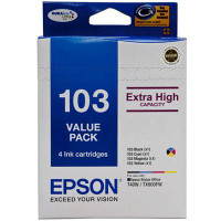 Epson 103N Value Pack - Black, Cyan, Magenta and Yellow