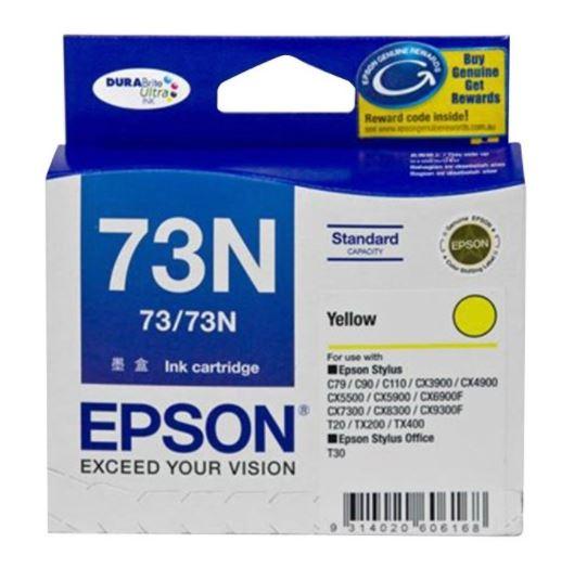 Epson 73N Yellow Ink Cartridge (Original)