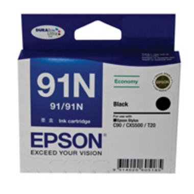 Epson 91N Black Ink Cartridge