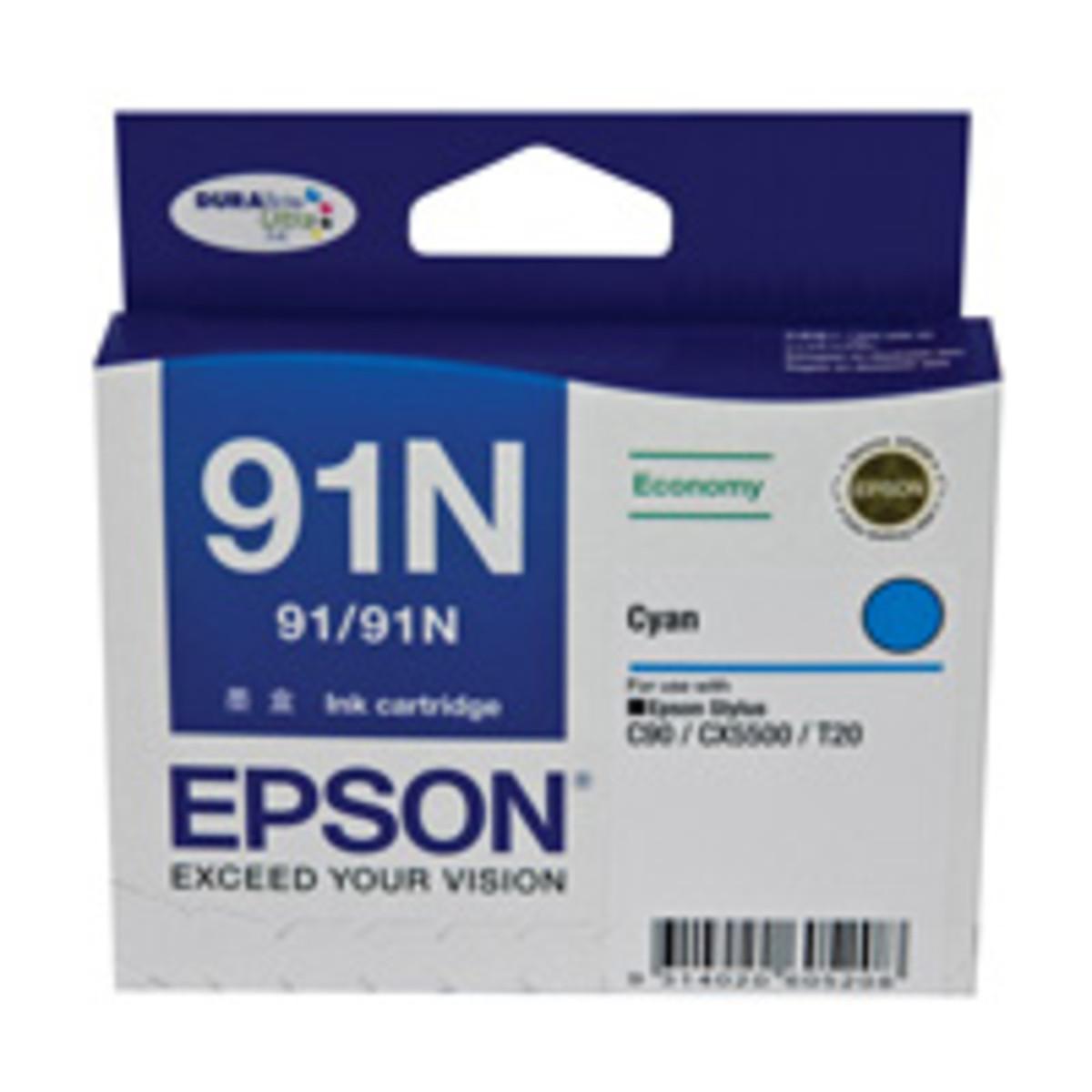 Epson 91N Cyan Ink Cartridge