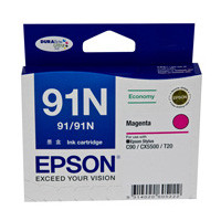 Epson 91N Magenta Ink Cartridge