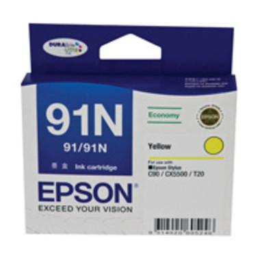 Epson 91N Yellow Ink Cartridge (Original)