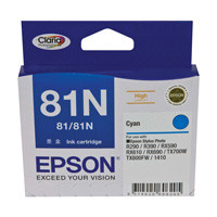 Epson 81N Cyan Ink Cartridge (Original)