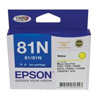Epson 81N Yellow Ink Cartridge (Original)