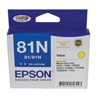 Epson 81N Yellow Ink Cartridge (Original)