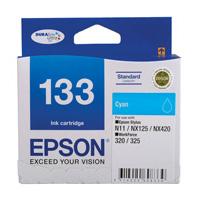 Epson 133 Cyan Ink Cartridge (Original)