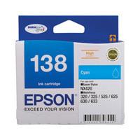 Epson 138 Cyan Ink Cartridge - High Yield