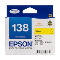 Epson 138 Yellow Ink Cartridge - High Yield
