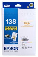 Epson 138 Colour Ink Cartridges - Value Pack