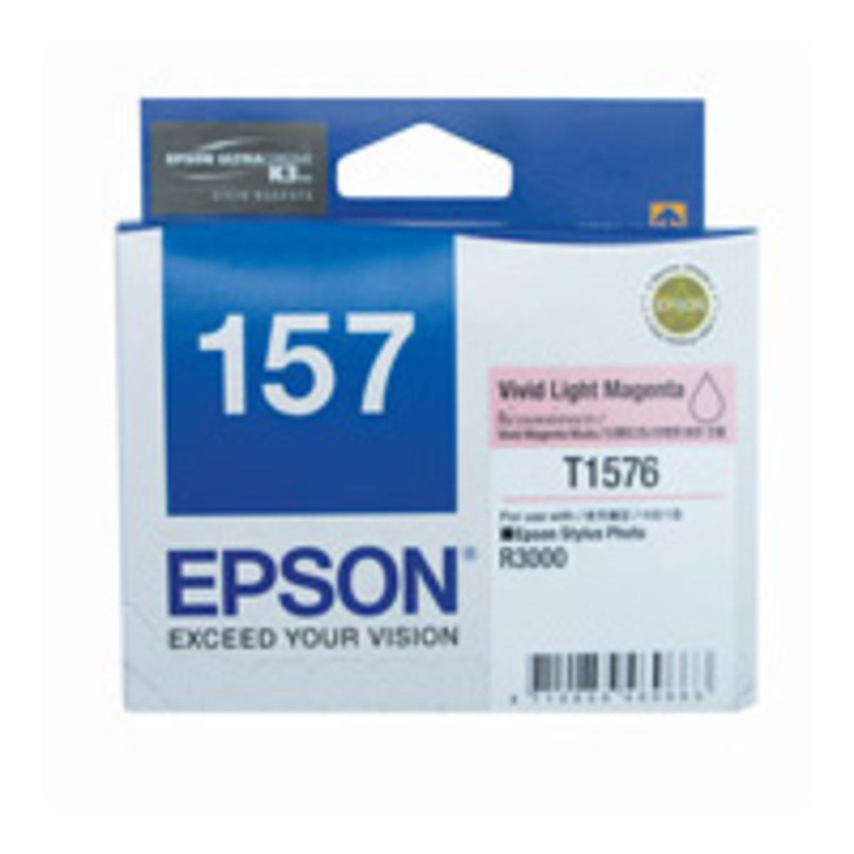 Epson 157 Vivid Light Magenta Ink Cartridge