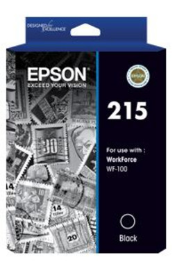 Epson 215 Black Ink Cartridge