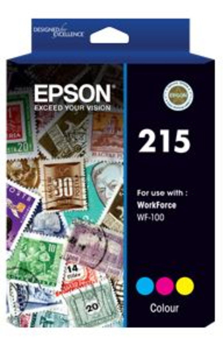 Epson 215 Tri-Colour Ink Cartridge
