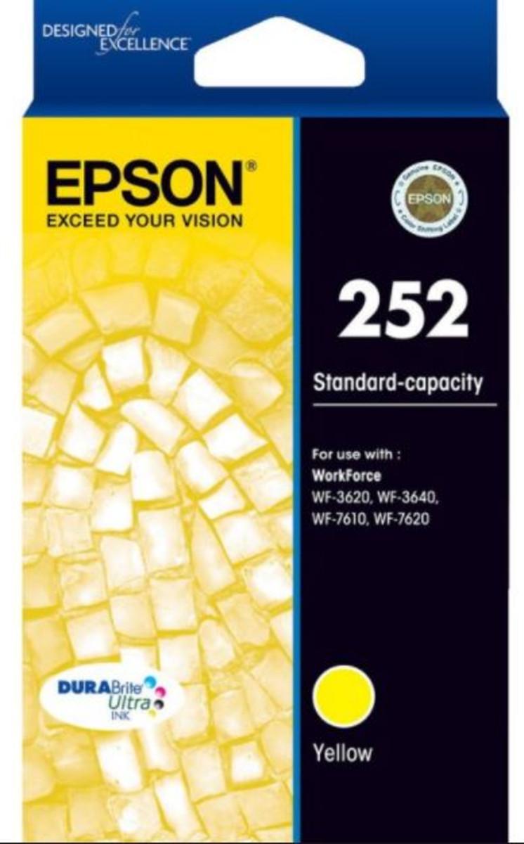 Epson 252 Yellow Ink Cartridge