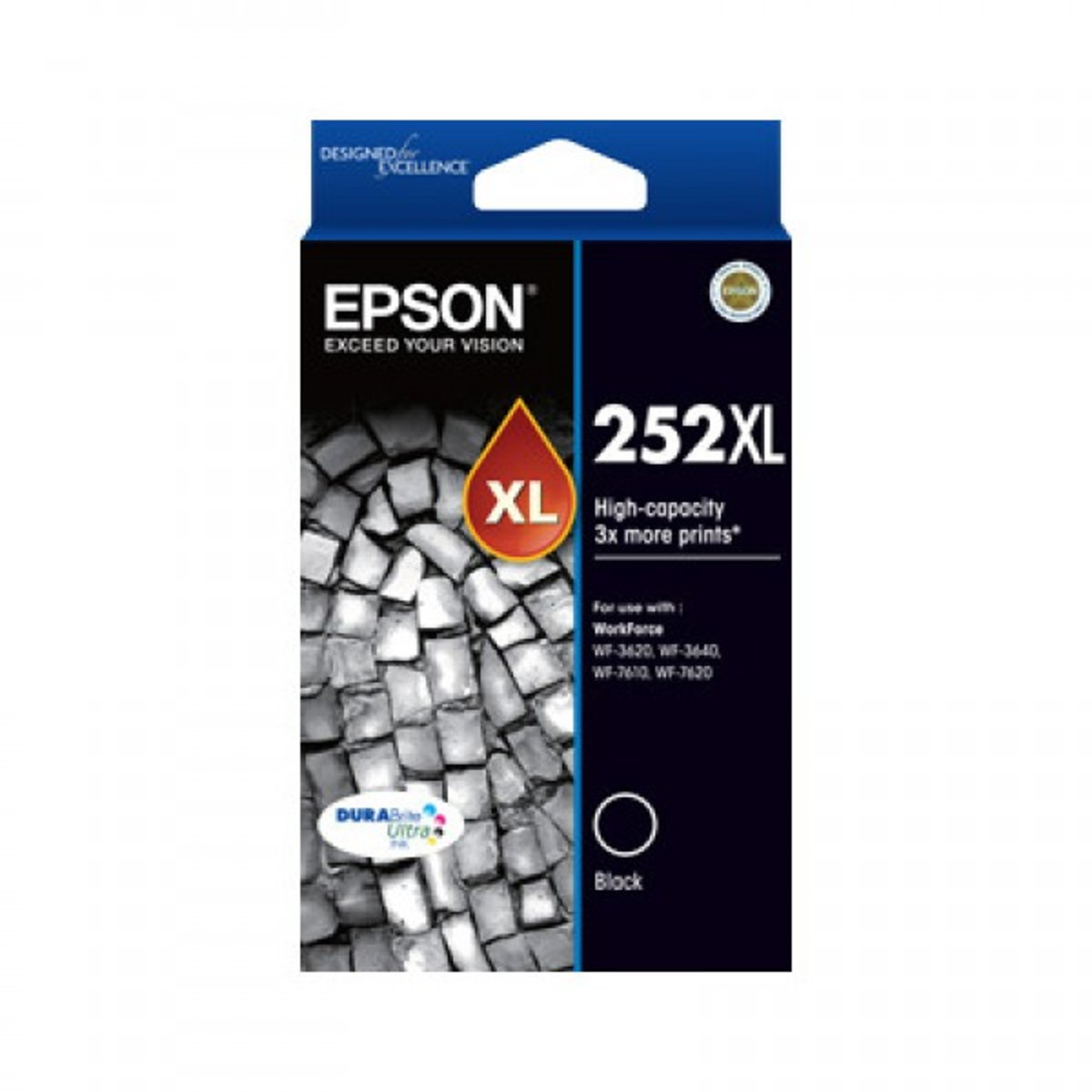 Epson 252XL Black Ink Cartridge - High Yield