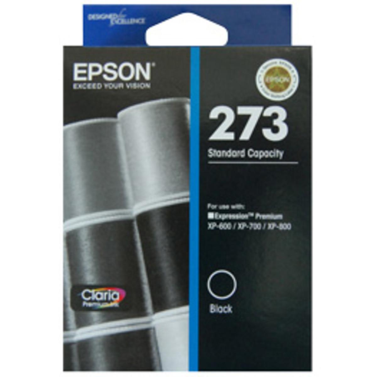 Epson 273 Black Ink Cartridge