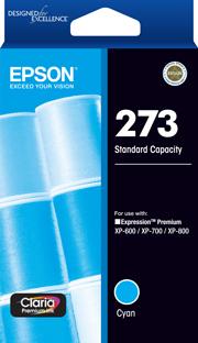 Epson 273 Cyan Ink Cartridge (Original)