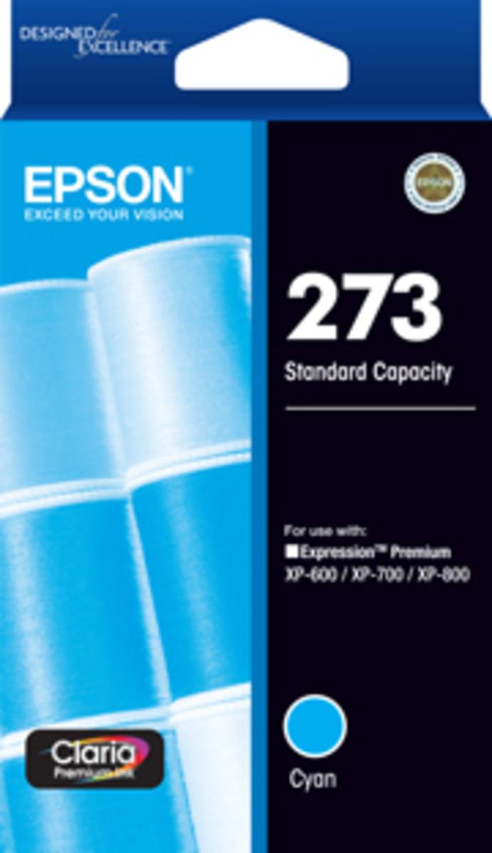 Epson 273 Cyan Ink Cartridge