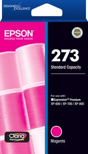 Epson 273 Magenta Ink Cartridge (Original)