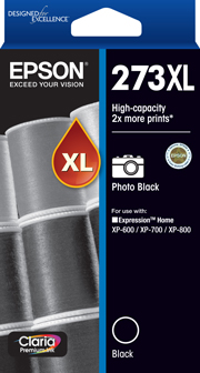 Epson 273XL Photo Black Ink Cartridge (Original)