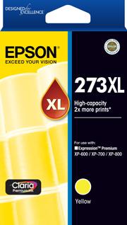 Epson 273XL Yellow Ink Cartridge (Original)