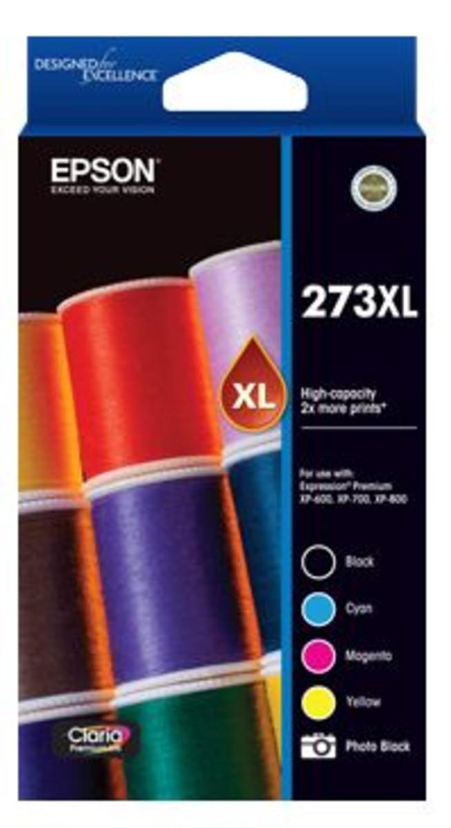 Epson 273XL Colour Ink Cartridge - Value Pack