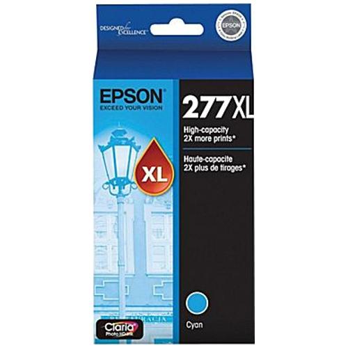 Epson 277 High Yield Cyan Ink Cartridge