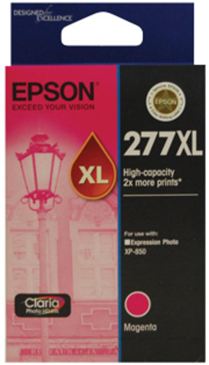 Epson 277XL Magenta Ink Cartridge - High Yield