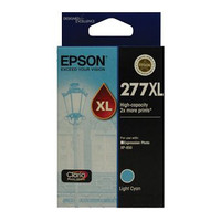 Epson 277XL Light Cyan Ink Cartridge - High Yield