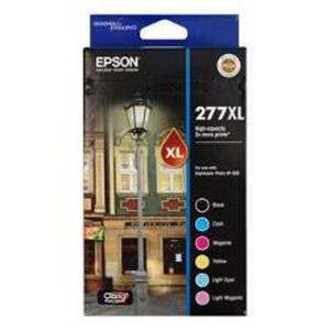 Epson 277XL 1 x Black, Cyan, Magenta, Yellow, Light Cyan, Light Magenta Ink Cartridge (Original)