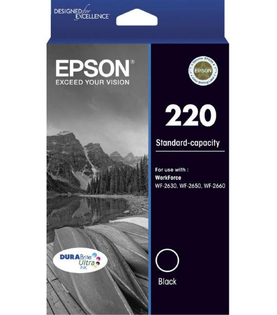 Epson 220 Black Ink Cartridge (Original)