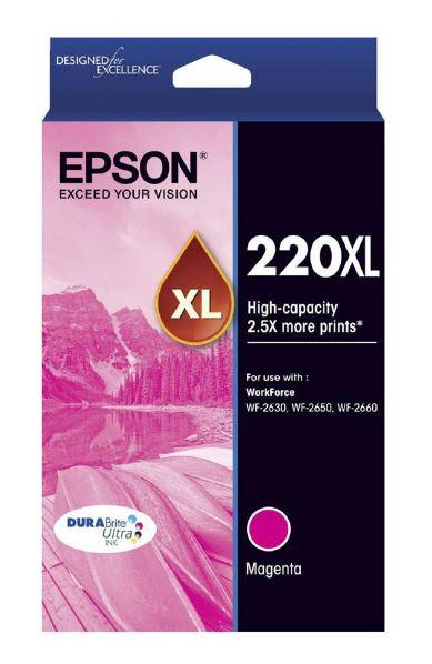 Epson 220XL Magenta Ink Cartridge (Original)