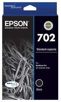 Epson 702 Black Ink Cartridge (Original)