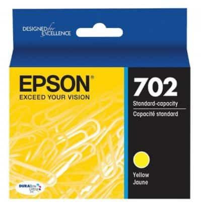 Epson 702 Yellow Ink Cartridge (Original)