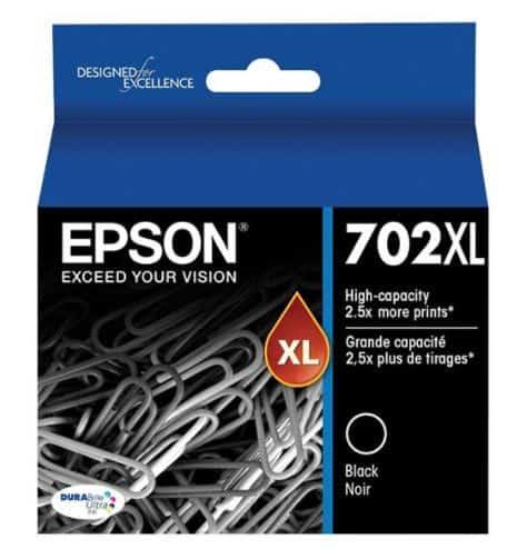 Epson 702XL Black Ink Cartridge (Original)