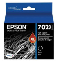 Epson 702XL High Yield Black Ink Cartridge