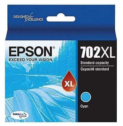 Epson 702XL Cyan Ink Cartridge (Original)