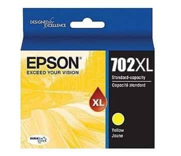 Epson 702XL Yellow Ink Cartridge (Original)