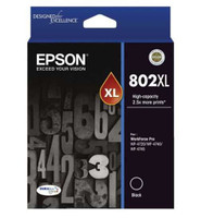 Epson 802XL Black Ink Cartridge - High Yield