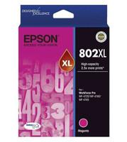 Epson 802XL Magenta Ink Cartridge - High Yield