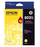 Epson 802XL Yellow Ink Cartridge - High Yield