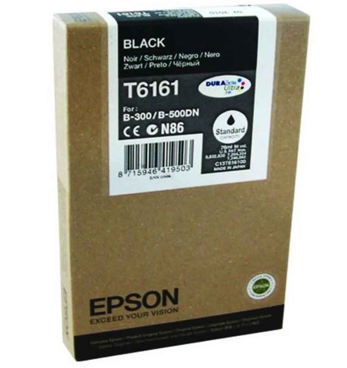 Epson C13T616100 Black Ink Cartridge