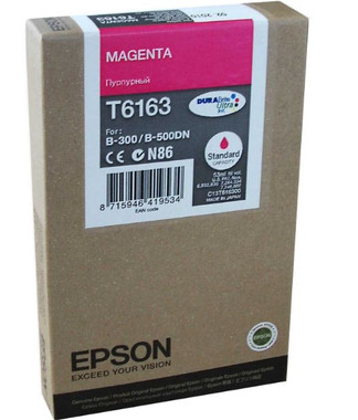 Epson T6163 Magenta Ink Cartridge (Original)