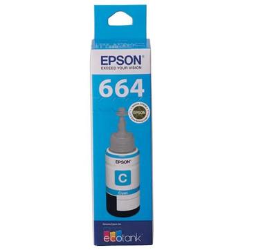 Epson T664 Cyan Ink Cartridge (Original)