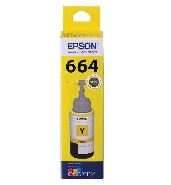 Epson T664 Yellow Ink Cartridge (Original)