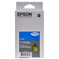 Epson 711XXL Cyan Ink Cartridge - High Yield