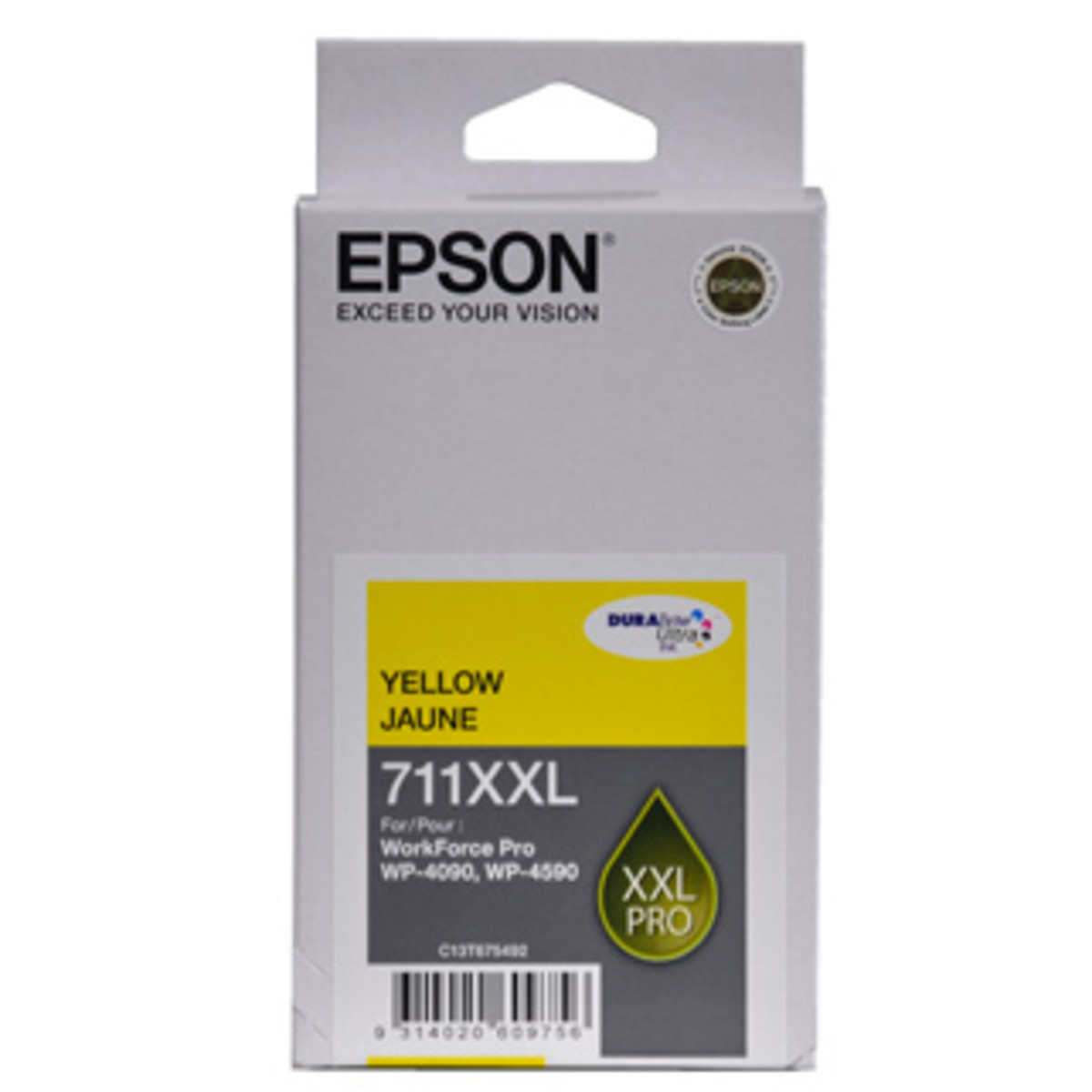 Epson 711XXL Yellow Ink Cartridge - High Yield