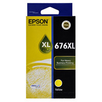 Epson 676XL Yellow Ink Cartridge - High Yield