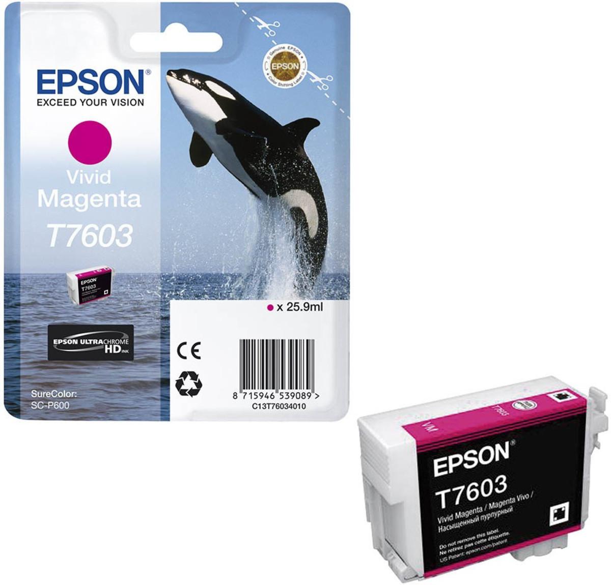 Epson 760 Vivid Magenta Inkjet Cartridge